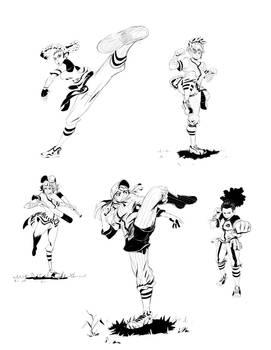 Baseball Fighter Girlz