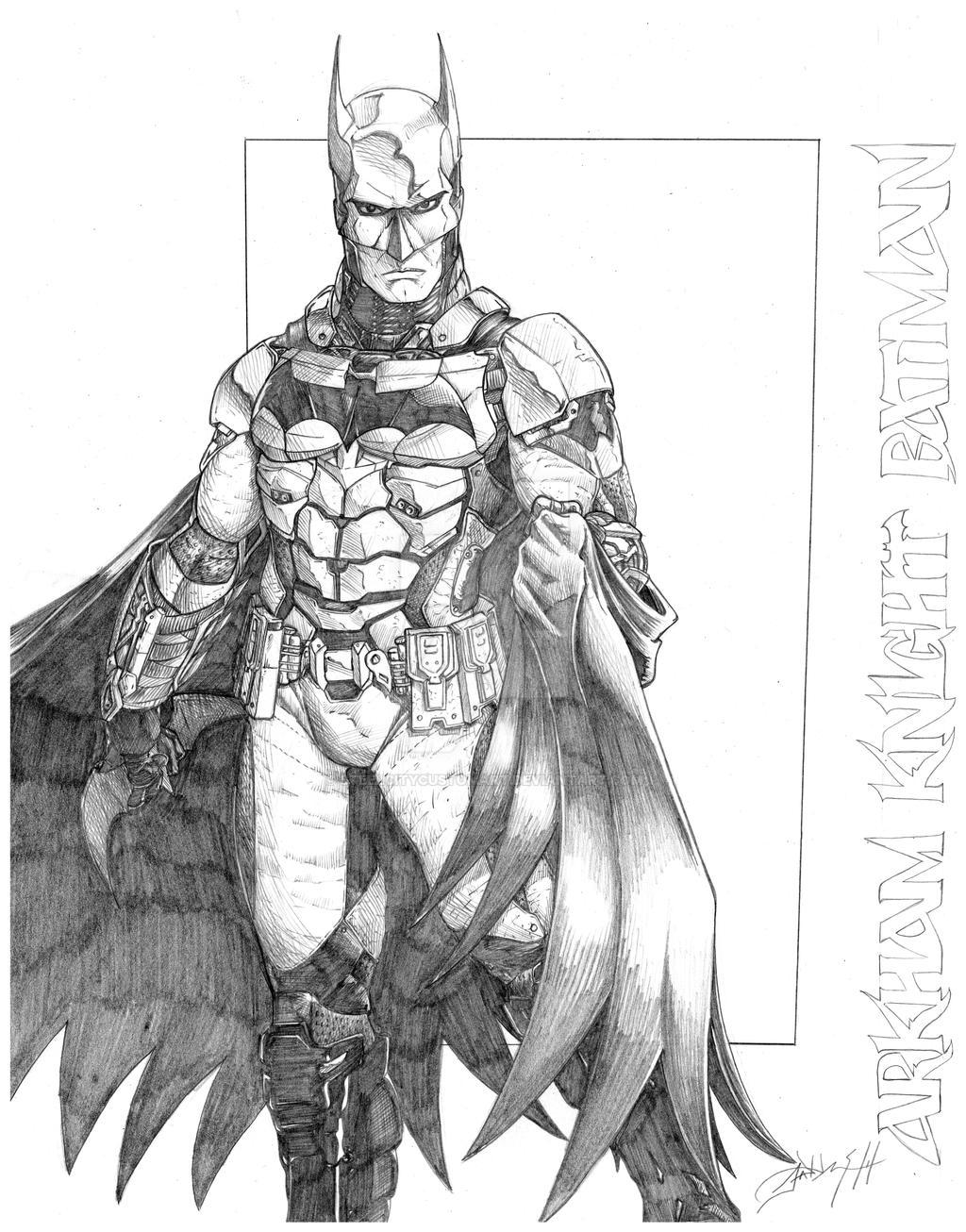 Batman Arkham Knight by steelcitycustomart on DeviantArt