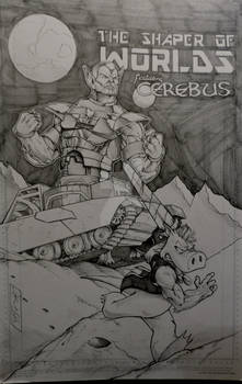 Shaper of Worlds/ Cerebus commission
