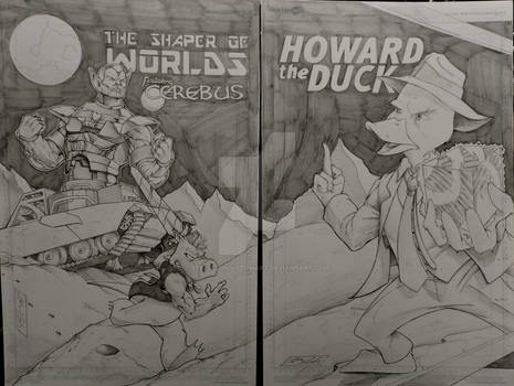Shaper of Worlds/ Cerebus/ Howard the Duck