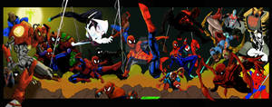 4 page Spiderverse commission