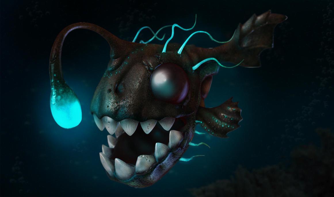 Deep sea fish by jodac on deviantart for Deep sea fishing mobile al