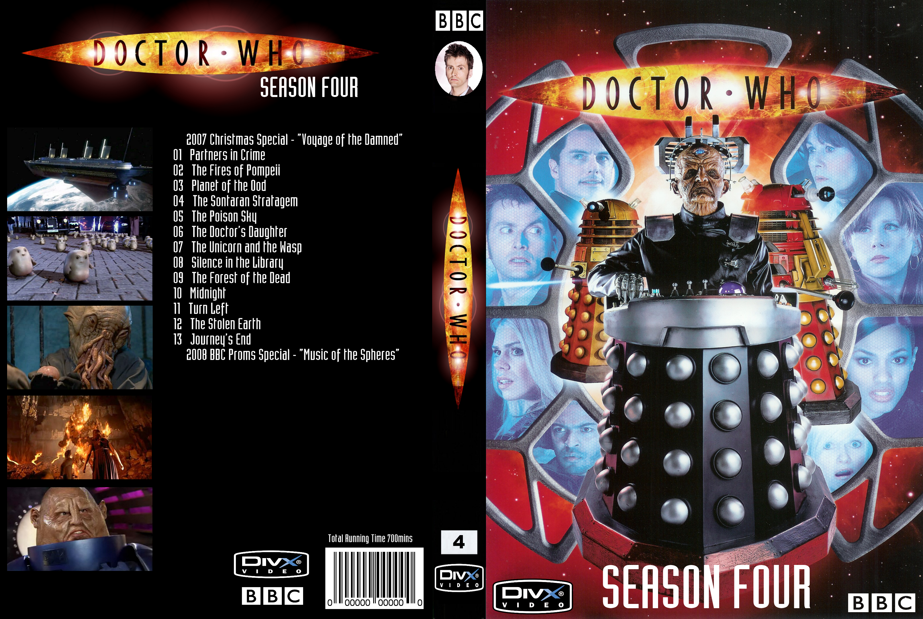 Doctor Who Season 4 DivX Cover by gabe2116 on DeviantArt