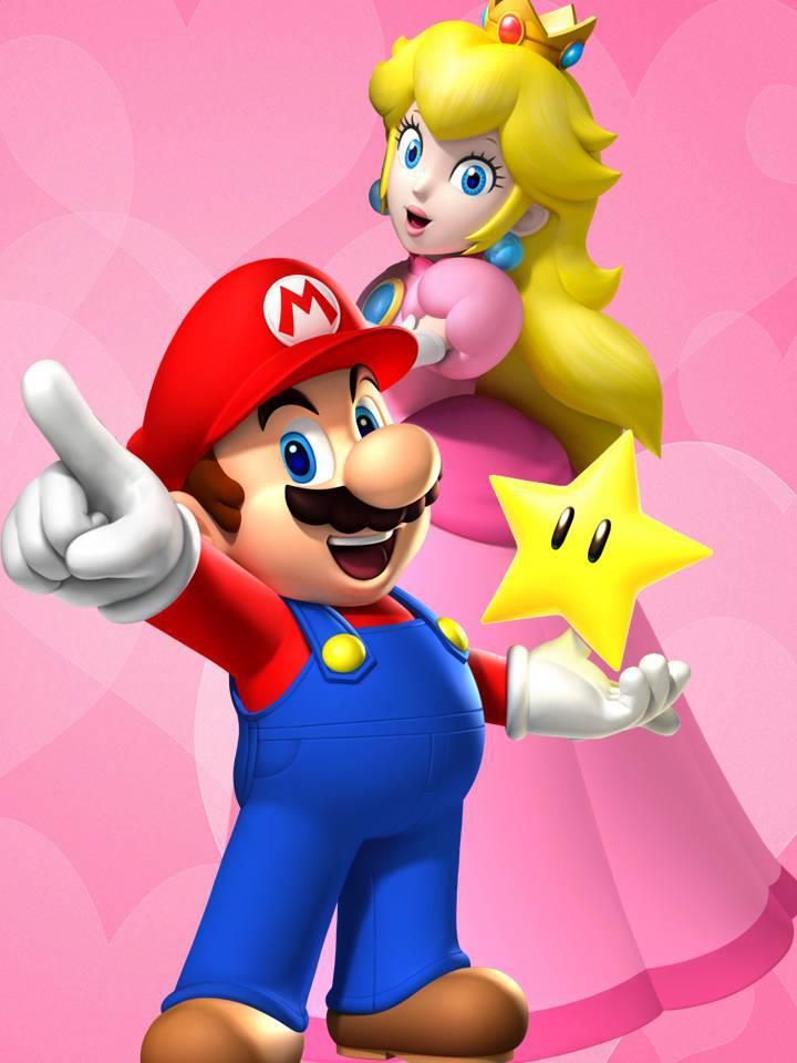 Mario And Peach Having It | www.imgkid.com - The Image Kid ...