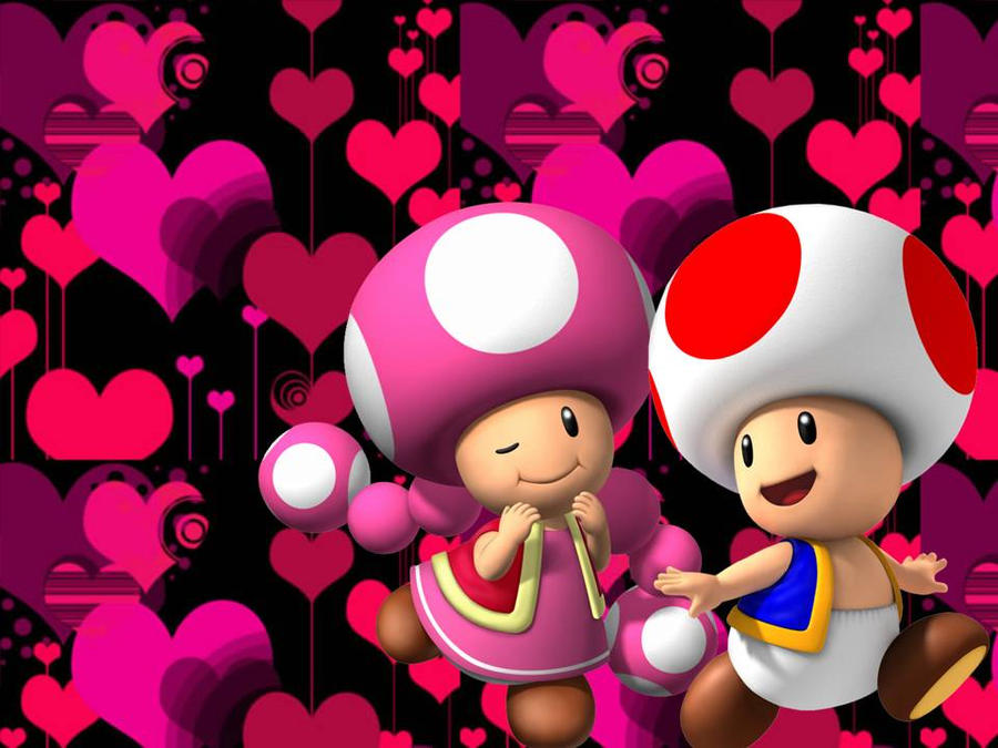 Toad and Toadette by GabyMarioFangirl on DeviantArt