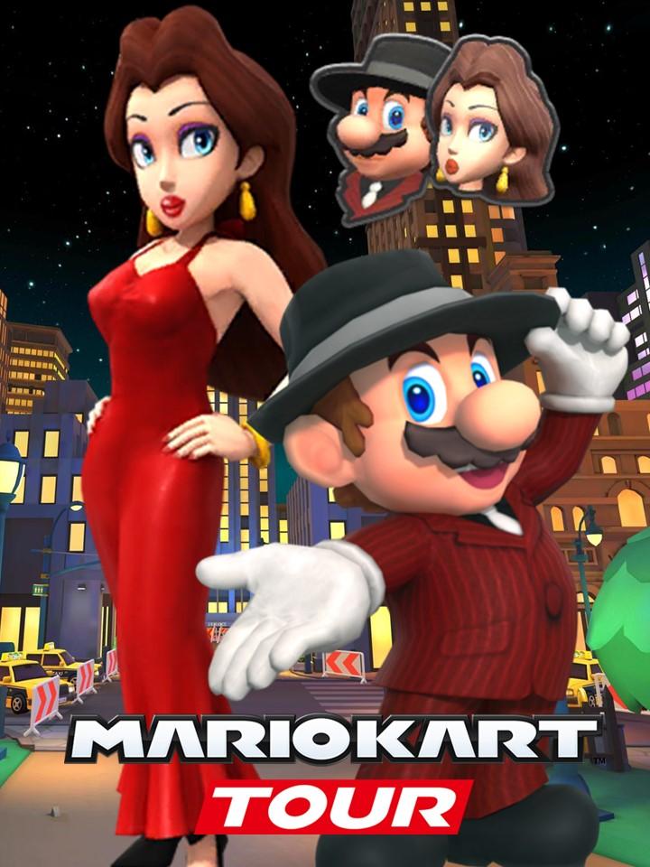 Mario Kart Tour Mario And Pauline By Gabymariofangirl On