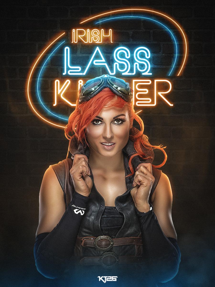 Irish Lass Kicker by shadykt26