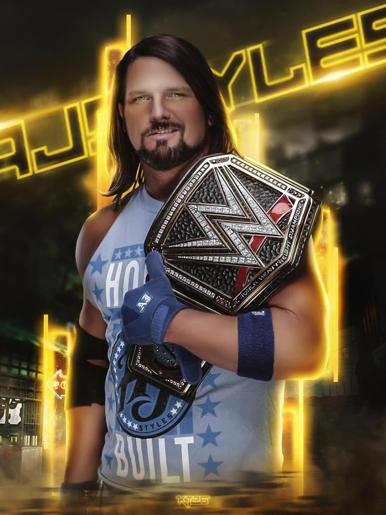 AJ Styles by shadykt26