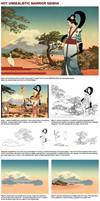 How to create a hot unrealistic geisha