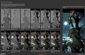 From Thumb to Finished Art by EMPAYAcomics