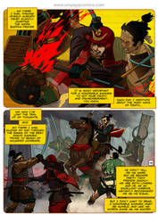 Ronin Blood, issue3, page 45 by EMPAYAcomics
