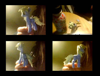 Derpy Hooves Paper Craft by WhiteFireOfIce