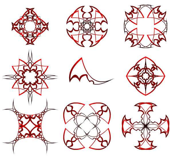 Tribal mock celtic knots by GifHaas