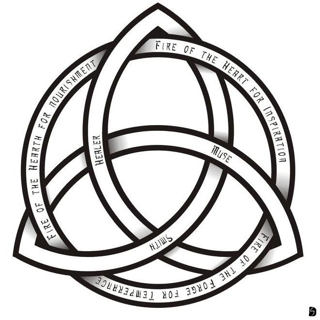 Meaning of celtic love knot tattoos tattoo artist ideas - The Trinity Of Brighid By Gifhaas On Deviantart