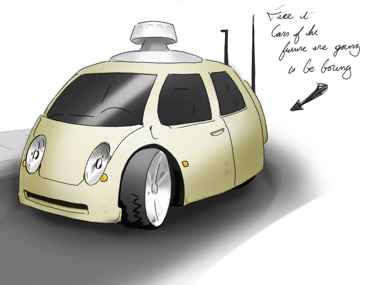 FUTURISTIC CAR by gandarewa