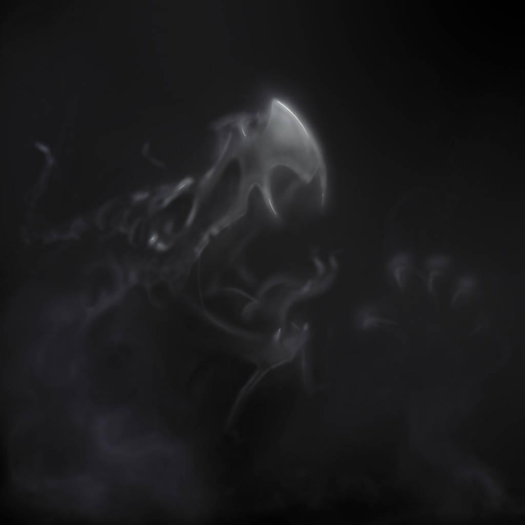 Gandarewa summons a spectral dragon by gandarewa