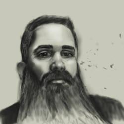 Aged Self Portrait by gandarewa