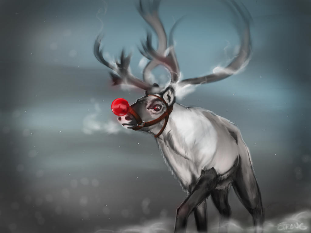 Christmas Character - Rudolph by gandarewa