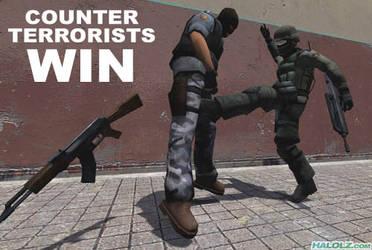 Counter-Terrorist Win XD by NarutoZero97