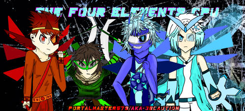 The Fours Elements CPU (Request) by AKA-38CAUTION