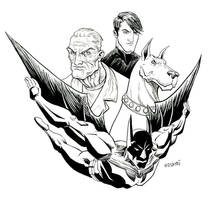 Batman Beyond m by Forty-Nine