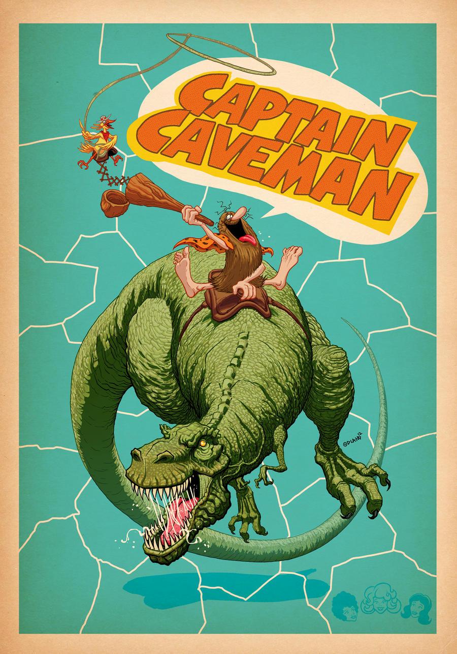 Caveman Cartoon Show : Captain caveman by forty nine on deviantart