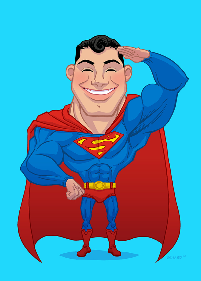 Superman by Forty-Nine