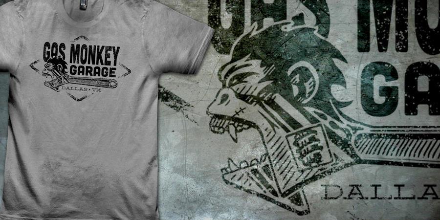 Gas Monkey Garage Shirts
