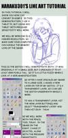 Line Art Using GIMP