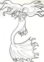 Mermaid by stoneofshadows13