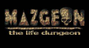 Game's title design - Mazgeon