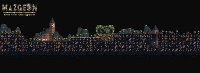 Overworld map - Mazgeon