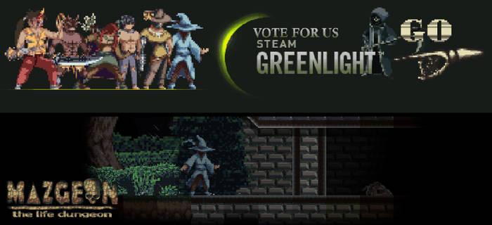 Steam greenlight - Mazgeon