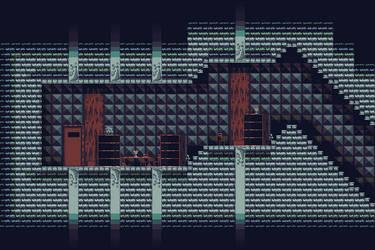 Dungeon mockup - DokitsuArt