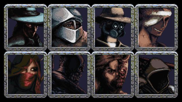 Character portraits - Mazgeon