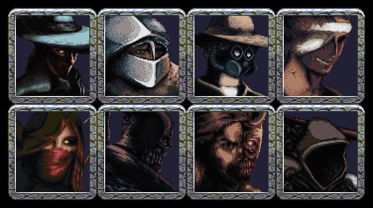 Character portraits - Mazgeon by dokitsu