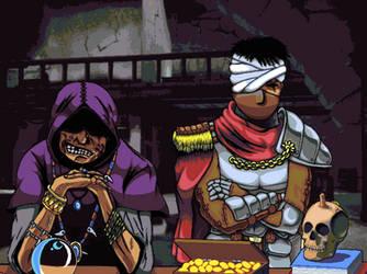 The Dealer and The Mercenary - Mazgeon