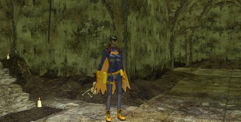Batgirl different angle