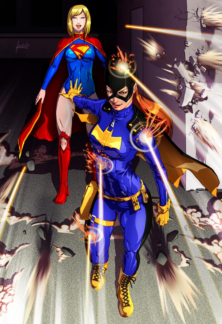 Kryptonian Batgirl by fradarlin