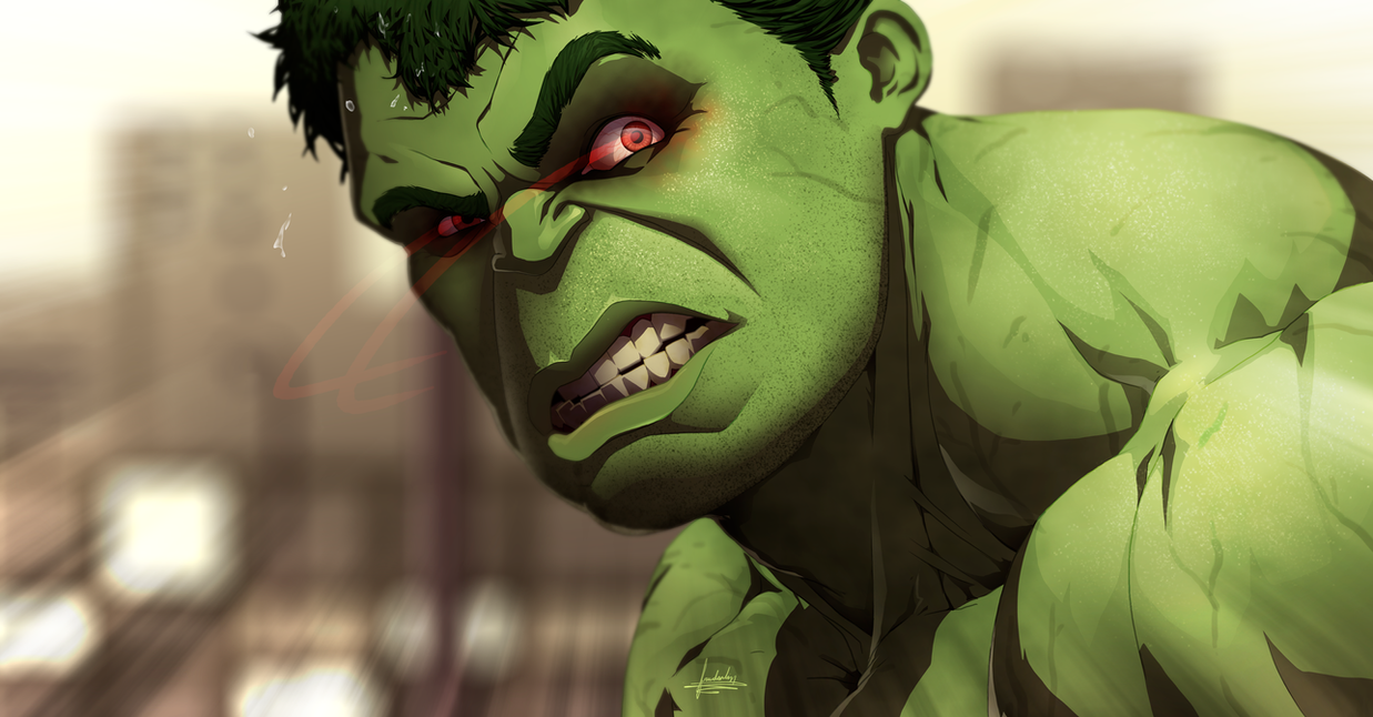 Hulk Avengers: the ege of Ultron by fradarlin