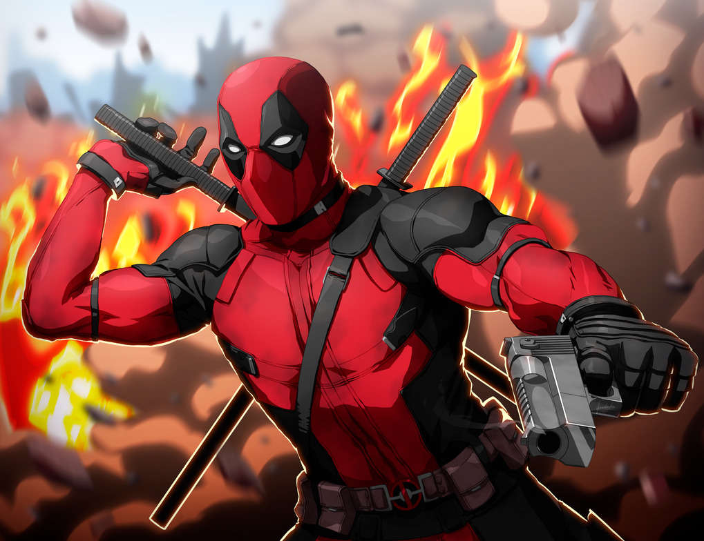 Deadpool Fan Art/ SpeedPaint by fradarlin