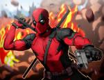 Deadpool Fan Art/ SpeedPaint