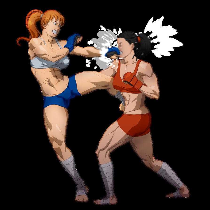 Sophia vs Crystin by fradarlin