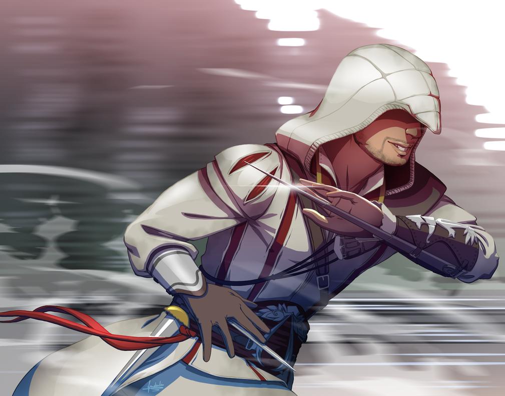 Ezio Auditore -  Assassin's Creed by fradarlin
