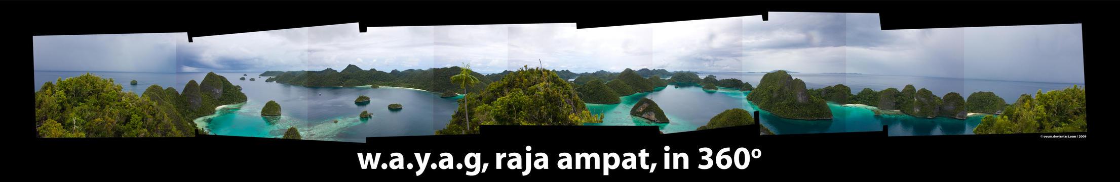 raja ampat - papua by ovum