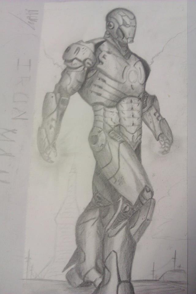 Iron man full body by Hobbsy1023 on DeviantArt
