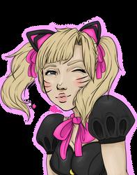 Black Cat D.Va by ArcSema