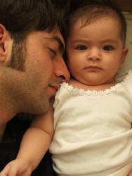 guy and the baby girl by damdakisuvari