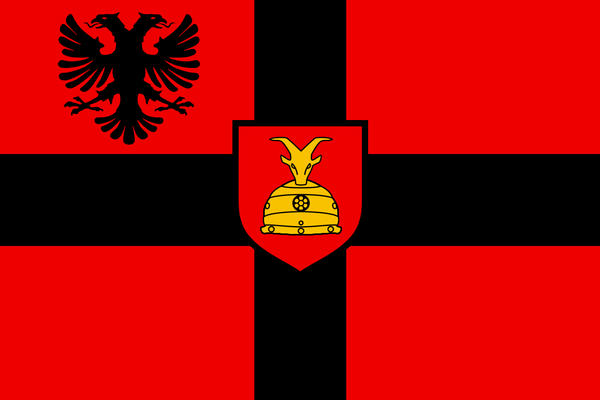 Albania Alternate Flag No By Resistancepencil On DeviantArt - Albania flag