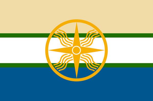 Proposal Flag of Sumer... Fertile Crescent Rivers